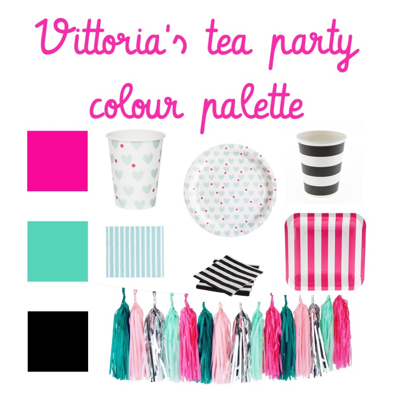 TeaTimeParty Colour Palette